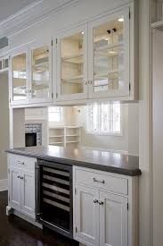 Glass Upper Cabinets Best 25 Glass Front Cabinets Ideas On Pinterest Glass Kitchen