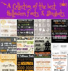 a collection of the best halloween fonts u0026 dingbats u2013 pinlavie com