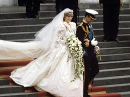wedding dress with princess diana s most iconic style moments from dress to