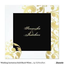 Black And White Wedding Invitations 607 Best Black And White Wedding Invitations Images On Pinterest
