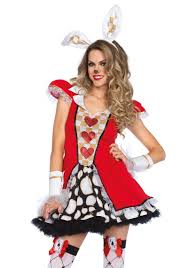 tick tock white rabbit halloween costume