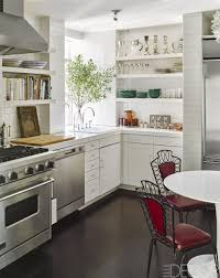 Kitchen Shelves Vs Cabinets 50 Small Kitchen Design Ideas Decorating Tiny Kitchens