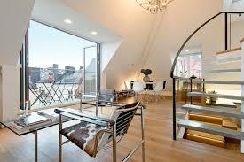dachwohnung einrichten bilder wohnzimmer einrichtung ideen raum mit dachschräge