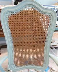 Refinishing Cane Back Chairs Duck Egg Chalk Paint