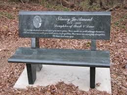 Commemorative Benches Bench Memorial Benches For Cemeteries Linwood Cemetery Memorial