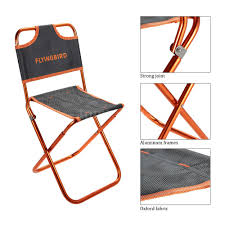 Backpack With Chair Folding Seat Stool Fishing Camping Hiking Gardening Beach Backpack