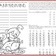 free printable thanksgiving crafts for preschoolers