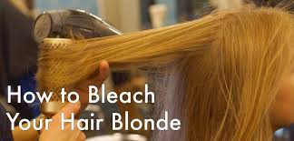 How Long To Wait Before Washing Hair After Coloring - how to bleach your hair blonde u2014the step by step guide bellatory