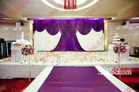 wedding backdrop aliexpress wedding 3mx6m backdrop purple stage background with beatiful swag