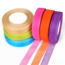 organza ribbon wholesale buy silk organza ribbon and get free shipping on aliexpress