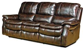 leather sectional recliner sofa with cup holders 46 bonded leather