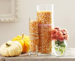 Fall Homemade Decorations - easy decorating ideas with corn kernels u2013 dollar store crafts