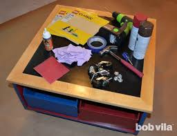 Diy Lego Table by How To Build A Lego Table Diy Kids Bob Vila