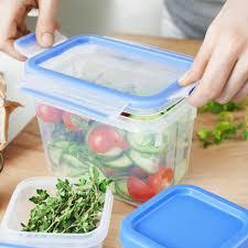 plastique cuisine boîte de conservation alimentaire hermétique haute plastique cuisine