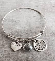 goddaughter charm bracelet baptism gift silver charm bracelet goddaughter gift christening