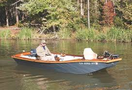 home built and fiberglass boat plans how to plywood ski 17 dragonfly garvey flats boat boatdesign