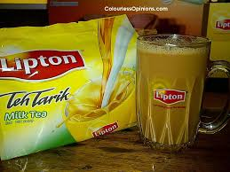 Teh Lipton lipton launches 3 in 1 teh tarik colourlessopinions com