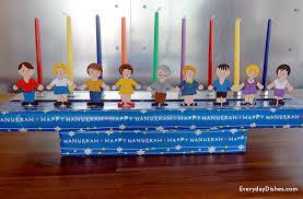 kids menorah hanukkah diy menorah craft for kids