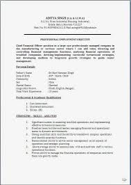 Sample Resume For Sap Abap 1 Year Of Experience by Resume Blog Co Resume Sample Ca U0026 Cma Cwa Having 18 Years Rich