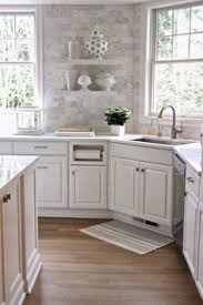 small kitchen backsplash ideas grey glass subway tile backsplash and white cabinet for small space