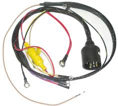 johnson internal wiring harness iboats com