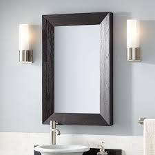 Rustic Vanity Mirrors For Bathroom - kane vanity mirror rustic black bathroom mirrors bathroom