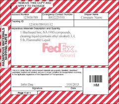 hazardous materials resources fedex