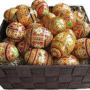 wax easter egg decorating traditional ukranian form batik hot wax egg shell writing