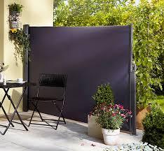 seitenmarkise balkon seitenmarkise anthrazit 160 x 300 cm