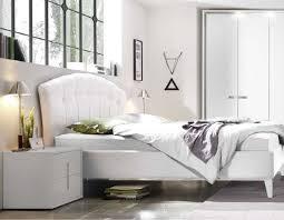 chevet chambre chevet design blanc et chromé chambre adulte hcommehome