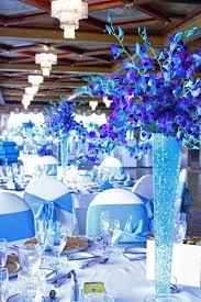 Blue Wedding Centerpieces by 50 Insanely Over The Top Quinceanera Centerpieces Quinceanera