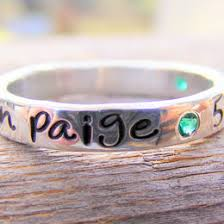 stackable engraved mothers rings handsted ring ideas collections