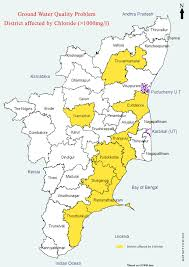 tamil nadu map maps on groundwater quality tamil nadu a collection by