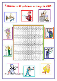 occupations in spanish crossword puzzle u0026 answer key free from