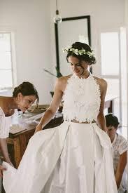 22 super stylish two piece wedding dresses