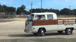 volkswagen pickup rare antique vw bus pickup truck youtube
