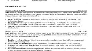 100 Professional Architect Resume Sample Bi Manager Resume Project Architect Resume