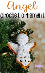 crochet square ornament