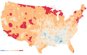 us weather map today temperature u s climate has already changed study finds citing heat and