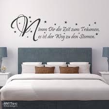 wandtatoos schlafzimmer schlafzimmer zeit zum träumen