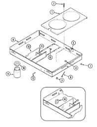 Parts For Jenn Air Cooktop Parts For Jenn Air C206b Cooktop Appliancepartspros Com