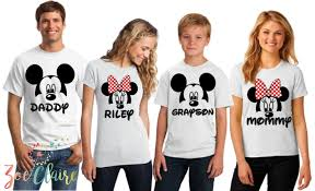 matching family disney shirts popsugar