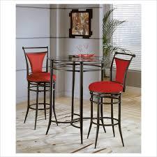 red pub table and chairs hillsdale cierra pub table 4596ptb