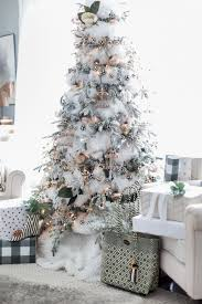 home for black and white tree