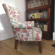 Button Back Armchair Napoleonrockefeller Com Collectables Vintage And Painted Furniture