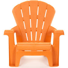 Yellow Plastic Adirondack Chair Little Tikes Garden Chair Orange Walmart Com