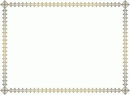 word certificate borders yellow certificate border template free