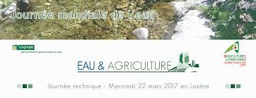 chambre agriculture lozere journée technique eau agriculture bilan de la 1ère édition