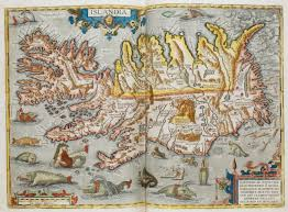 Medieval Maps Unicorns Serpents And Mermaids Medieval Sea Monsters