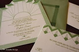 deco wedding invitations deco wedding invitation zenadia design